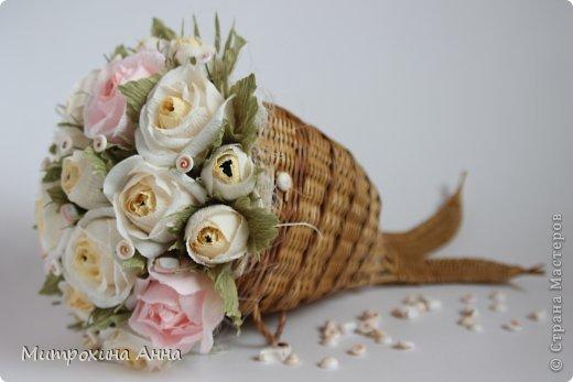 букет роз из гофрированной бумаги (1) (520x347, 28Kb)