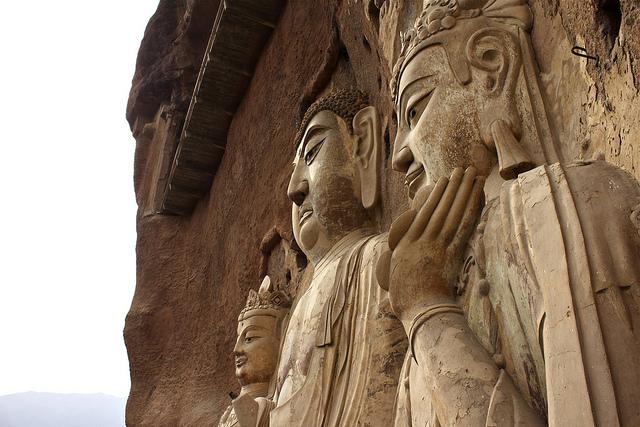 буддийский комплекс Майцзишань китай 4 (640x427, 175Kb)