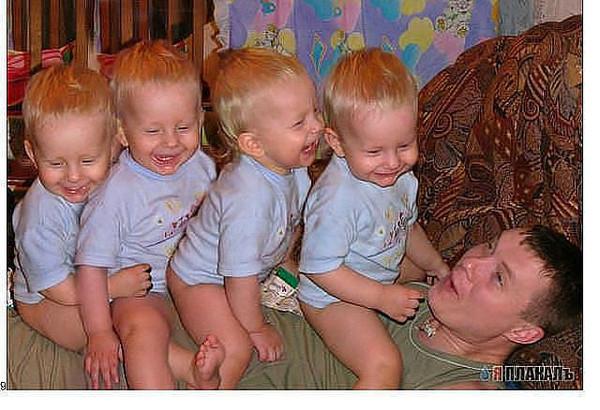 Kako tate čuvaju decu :) 101652458_4809770_Rebyonok_mnogo