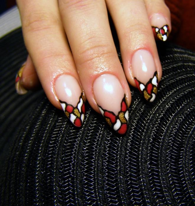 Дизайн и формы нарощенных ногтей