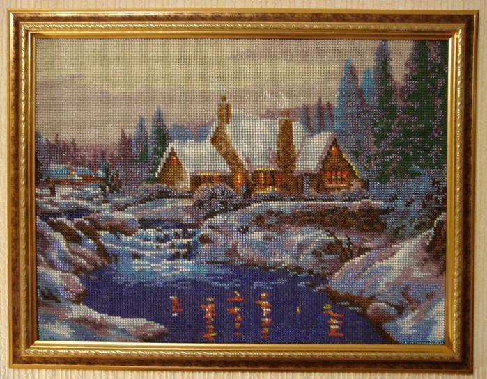 Обалденные вышитые бисером картины можно посмотреть в. Картины. .  Интернет магазин изделий вышивки и...