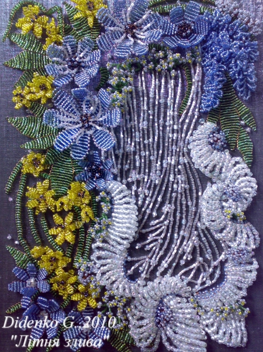 Бисероплетение картины из бисера - Делаем фенечки своими руками.