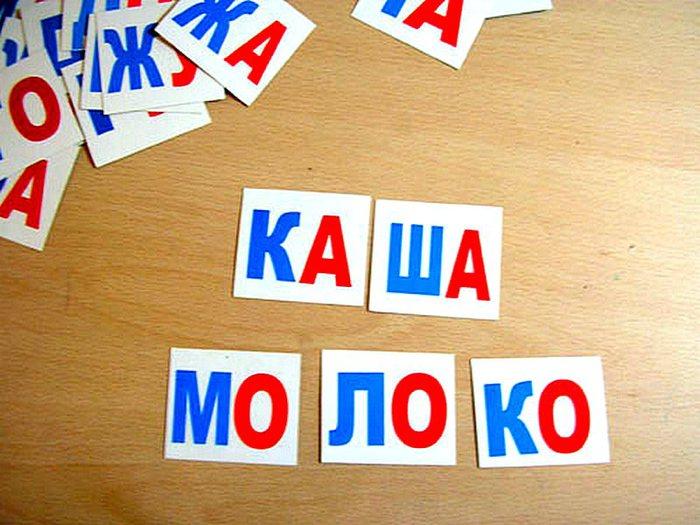 слова из 3 слогов с ь знаком
