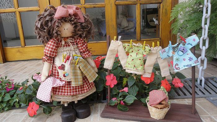 лоскутные куклы ручной работы 2 (700x393, 251Kb)