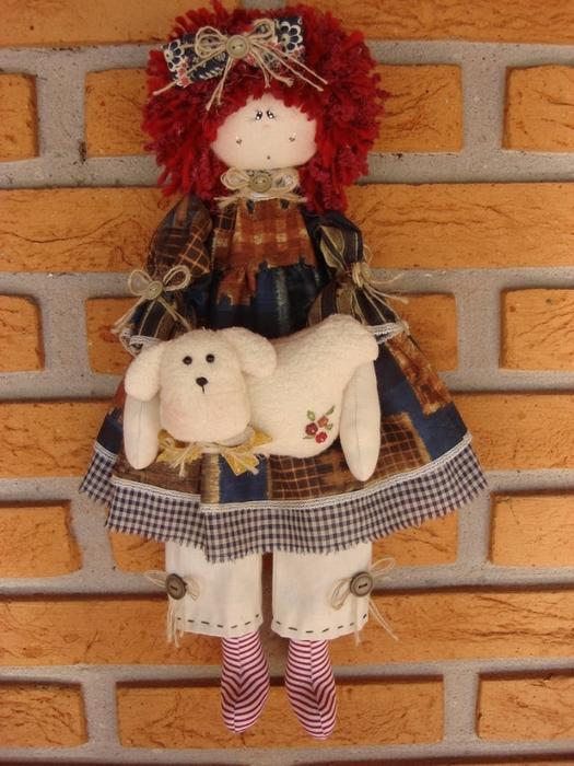 лоскутные куклы ручной работы 9 (525x700, 294Kb)