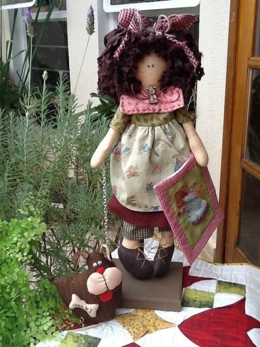 лоскутные куклы ручной работы 11 (525x700, 290Kb)
