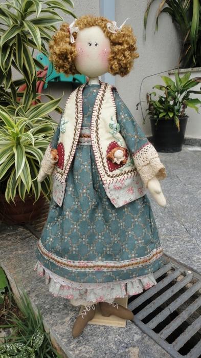 лоскутные куклы ручной работы 13 (393x700, 258Kb)
