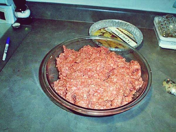 Быстрый Американский пирог с мясом