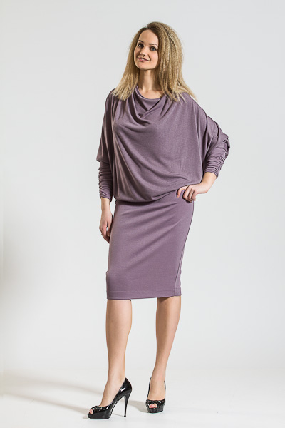 платье клеш крючком для девочки