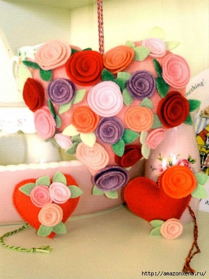 Шьем валентинку с розочками из фетра. Шаблон (1) (409x546, 133Kb)