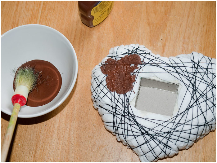 Кофейное сердце - домик для птички. Мастер-класс (14) (700x526, 130Kb)