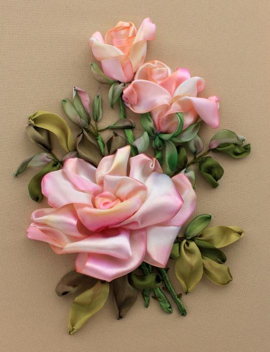 розовые розы (537x700, 146Kb)