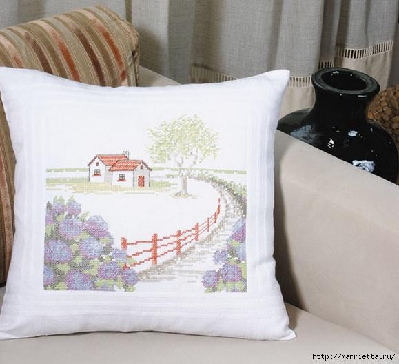 Вышивка для тех, кто мечтает о домике в деревне) (1) (579x528, 158Kb)