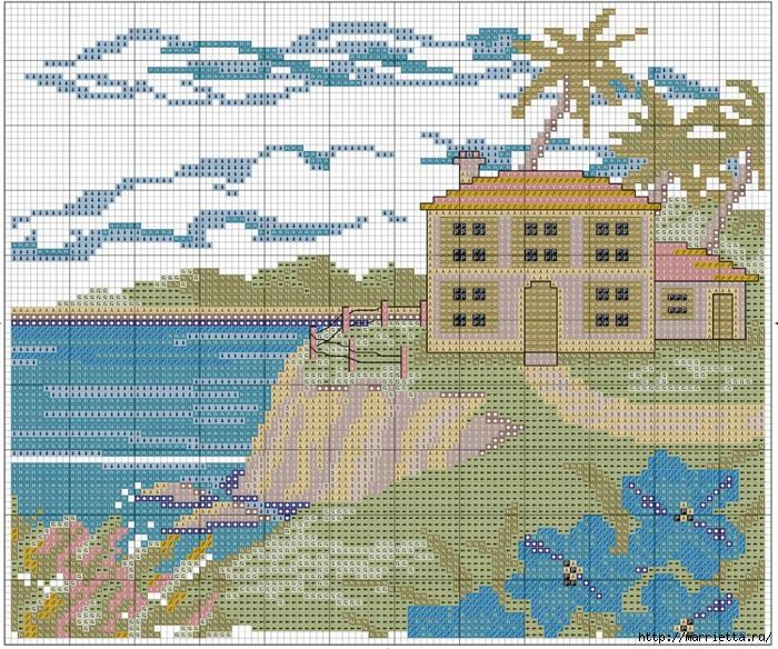 Вышивка для тех, кто мечтает о домике в деревне) (5) (700x584, 425Kb)
