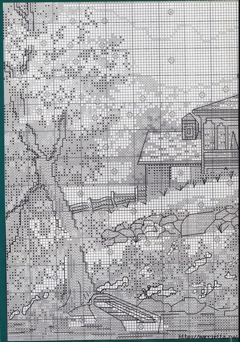 Вышивка для тех, кто мечтает о домике в деревне) (13) (491x700, 409Kb)