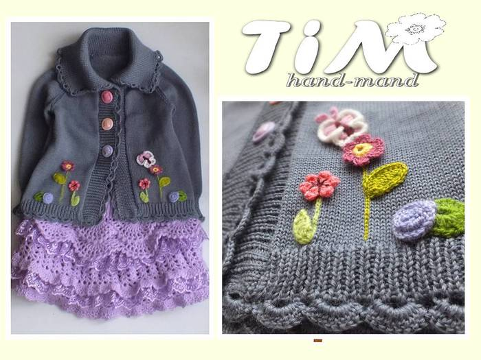 Tim hand-mand схемы вязания для детей