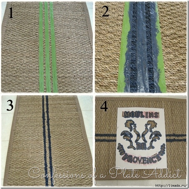 CONFESSIONS OF A PLATE ADDICT Grain Sack Rug Tutorial_thumb[12] (605x605, 375Kb)