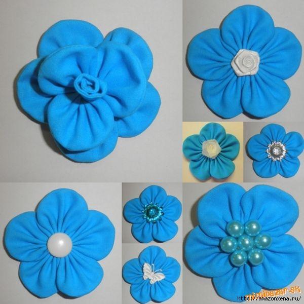 Мастер-класс по созданию цветочков из ткани для украшения детской одежды (1) (600x600, 156Kb)