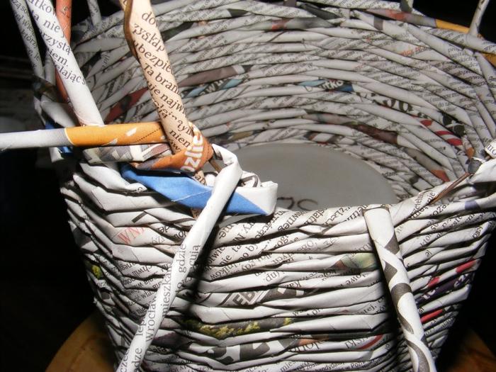 Плетение из газет. МЕЛЬНИЦА. Мастер-класс (7) (700x525, 312Kb)