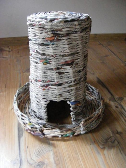 Плетение из газет. МЕЛЬНИЦА. Мастер-класс (28) (525x700, 268Kb)