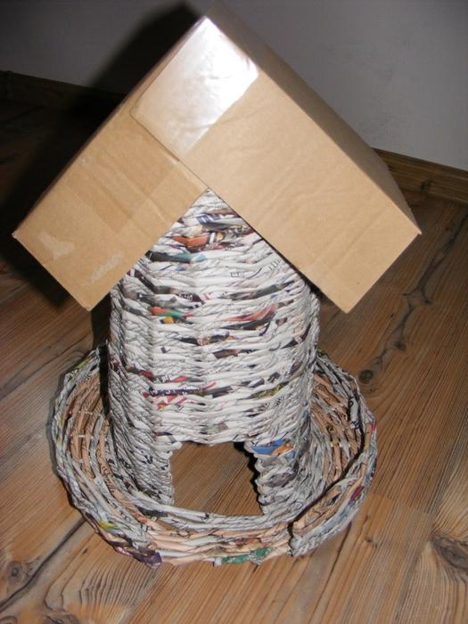 Плетение из газет. МЕЛЬНИЦА. Мастер-класс (33) (525x700, 288Kb)