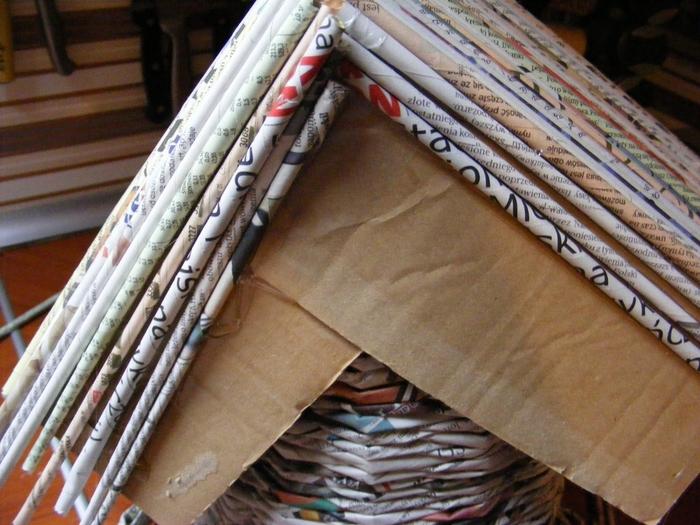 Плетение из газет. МЕЛЬНИЦА. Мастер-класс (37) (700x525, 297Kb)