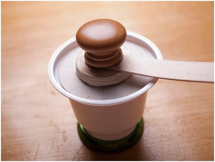 Винтажная кофемолка из картона. Мастер-класс. Супер! (35) (700x526, 29Kb)