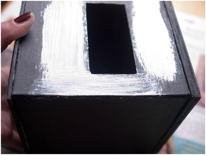 Винтажная кофемолка из картона. Мастер-класс. Супер! (39) (700x526, 38Kb)