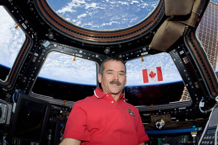 Астронавт Крис Хедфилд (Chris Hadfield)