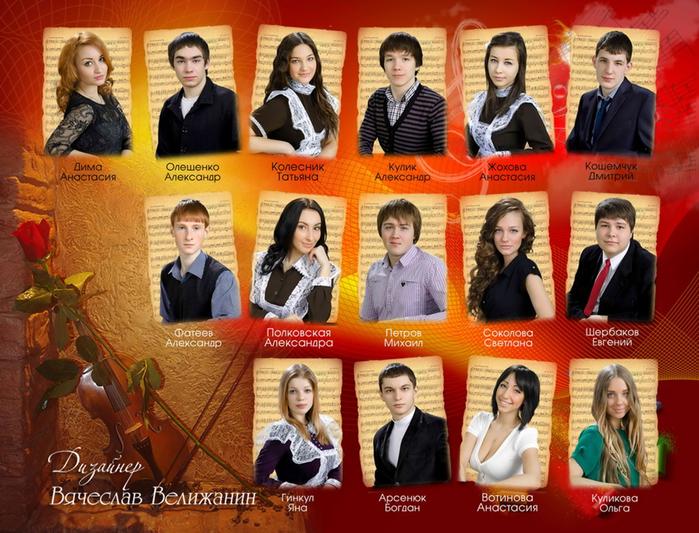 Поздравления для выпускников музыкальных школ