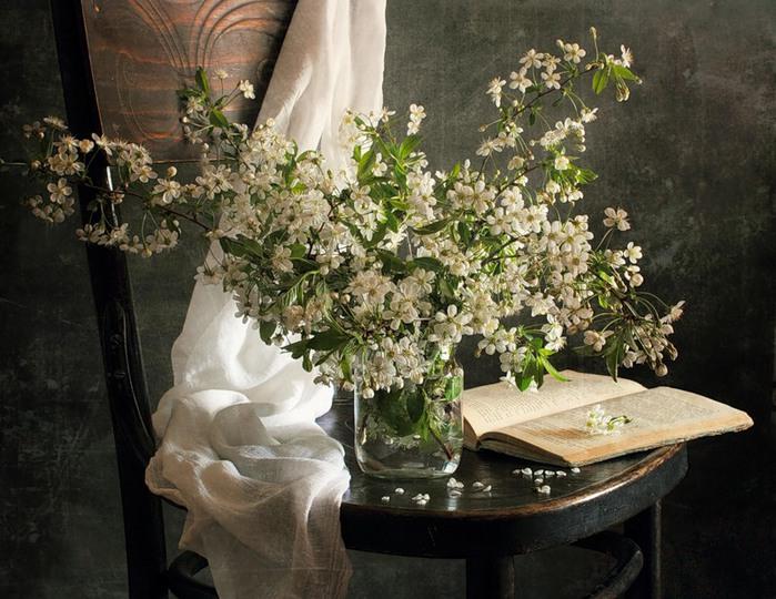 белые цветы (700x540, 128Kb)