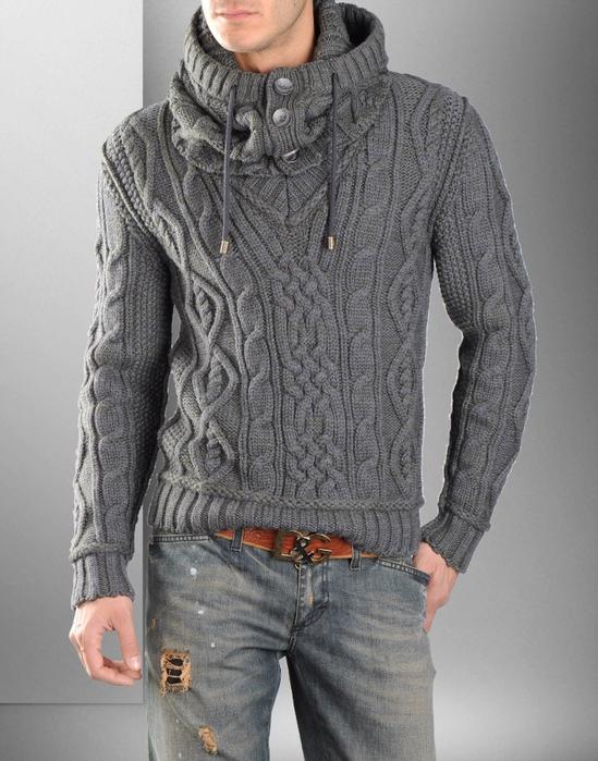 мужские изделия свитера