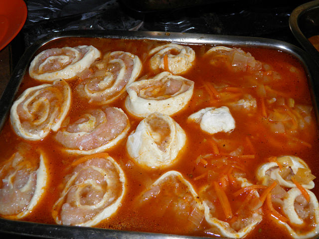 Штрули рецепт пошагово с капустой