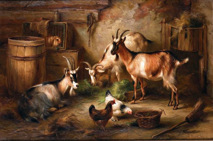 Домашние животные Эдгара Ханта.  Артгалерея.