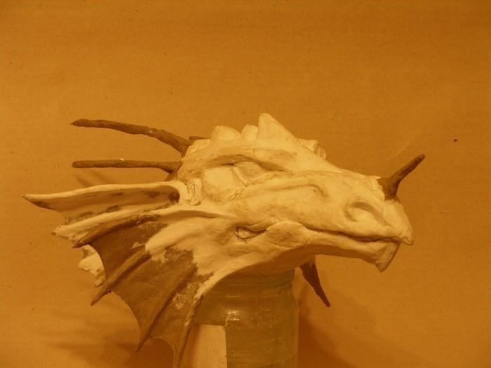 Как сделать дракона из папье-маше своими руками пошагово