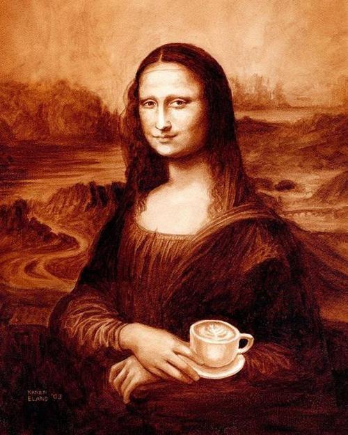картины нарисованные кофе/4171694_kofeinie_kartini_Karen_Eland (500x625, 88Kb)