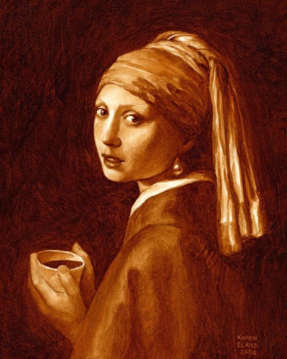 картины нарисованные кофе/4171694_kofeinie_kartini_Karen_Eland_2 (559x700, 170Kb)