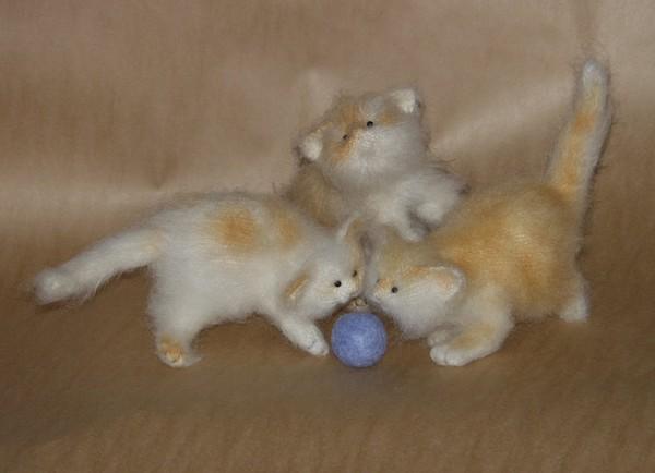 Кот и мыши, игрушки