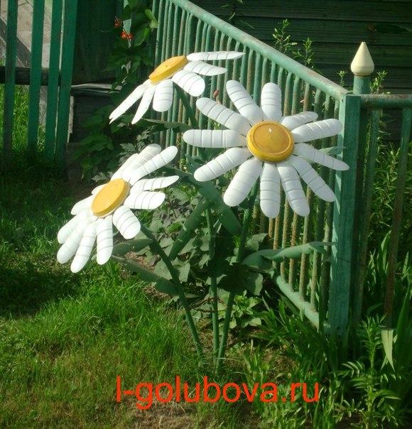 Бесплатно поделки для сада