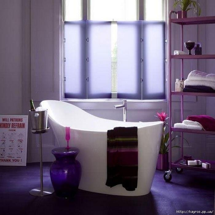 Необычный дизайн интерьера ванных 1 (700x700, 240Kb)