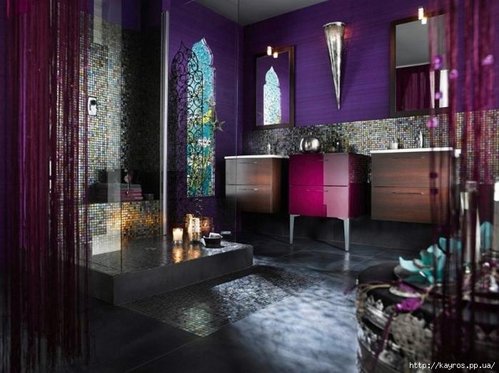 Необычный дизайн интерьера ванных 16 (700x523, 263Kb)