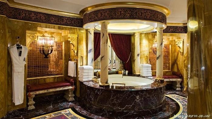 Необычный дизайн интерьера ванных 24 (700x394, 257Kb)