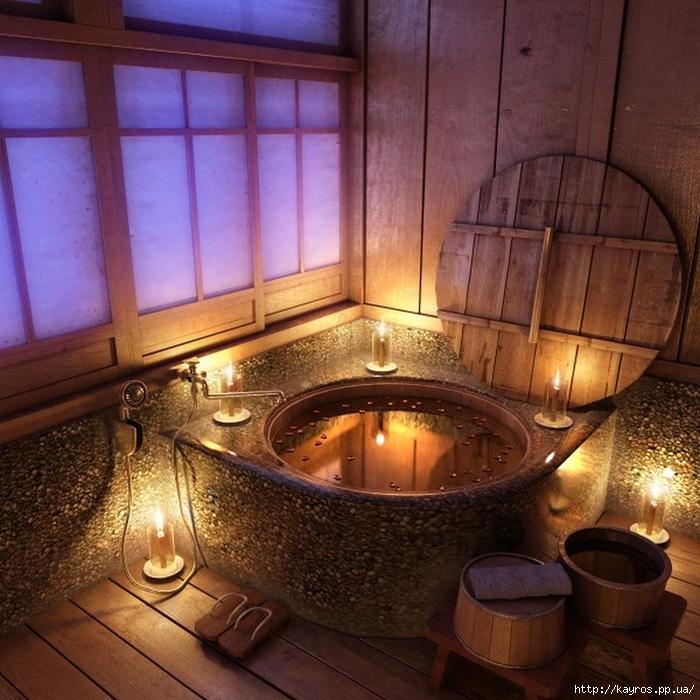 Необычный дизайн интерьера ванных 31 (700x700, 356Kb)