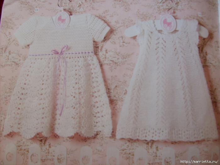 платье для девочки крючком (8) (700x525, 241Kb)