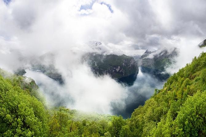 норвежские фьорды фото Geirangerfjorden 7 (670x446, 232Kb)