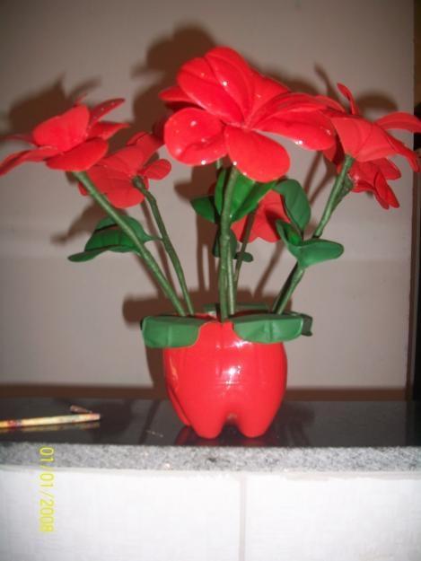 цветы из пластиковых бутылок (18) (469x625, 94Kb)