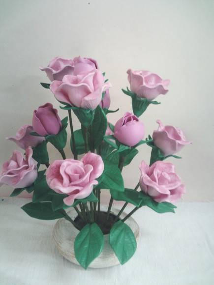 цветы из пластиковых бутылок (52) (435x580, 75Kb)