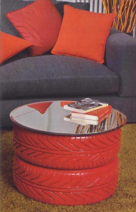использование бросового материала в интерьере дома и на даче (15) (448x700, 211Kb)