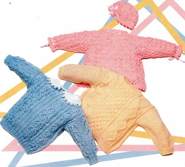Ручные вязанья для детей 690