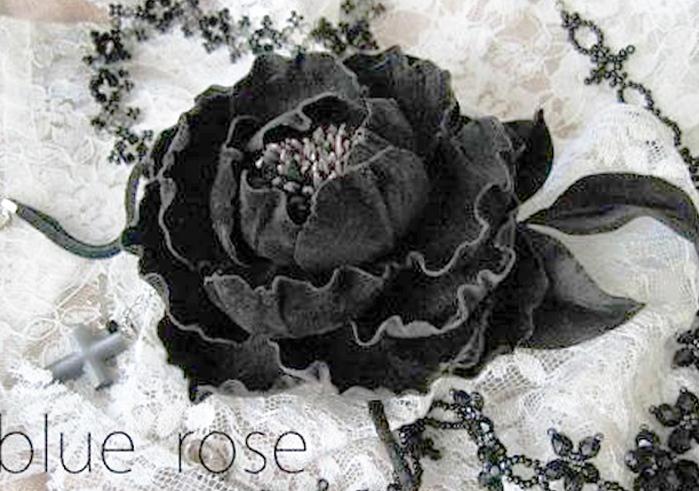 черная роза (699x491, 265Kb)